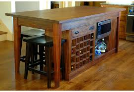 charming kitchen islands with wine rack