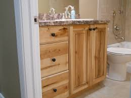 finished bathroom ideas knotty pine cabinet rustic bathroom vanities newly finished