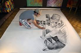 drawn 3d epic pencil and in color drawn 3d epic