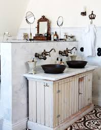 double vanity inspiration country cottage vessel sinks