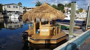 cruisin u0027 tikis floating tiki bars available for rent in fort