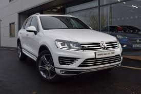 volkswagen touareg white used volkswagen touareg cars for sale in newcastle upon tyne tyne