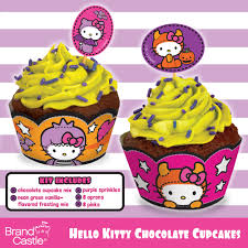 hello kitty halloween cupcake kit crafty cooking kits