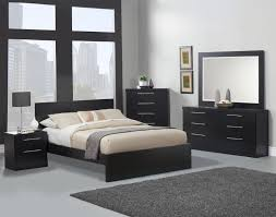 interior design minimalist black furniture of minimalist bedroom interior design with white