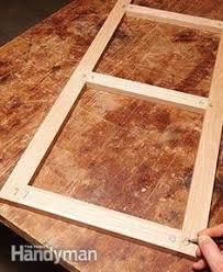 How To Build A Cabinet Door Frame Detailed Shaker Door Tutorial Wood Finishing Pinterest Best