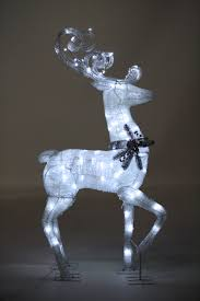 light up reindeer ideas decorating