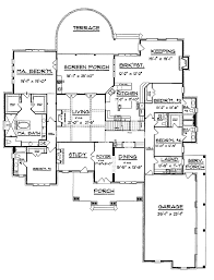 luxury house plan first floor 024s 0026 from houseplansandmore com