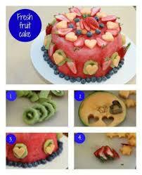 Watermelon Cake Decorating Ideas 161 Best Watermelon Fruit Cakes U0026 Pizzas Images On Pinterest