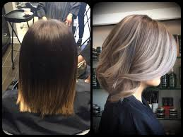 how to blend grey hair with highlights transformation time going gray john paul mitchell systems