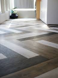oh yes she diyd herringbone floors with vinyl stick down planks