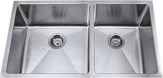 Lovable Stainless Steel Undermount Double Bowl Kitchen Sink - Double bowl kitchen sink undermount