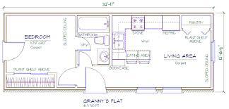 1 bedroom granny flat floor plans floor plans