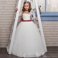 sleeves lace pageant dresses for size 8 10 12