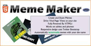 Meme Photo Maker - html5 meme maker by vadepaysa codecanyon