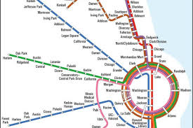 Chicago Loop Map by Subway Maps Never Stop Designs Are Always In Motion Curbed Chicago