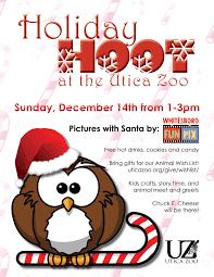 holiday hoot utica zoo