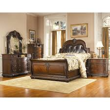 Sleigh Bed Bedroom Set Stunning King Sleigh Bedroom Sets Photos Home Design Ideas