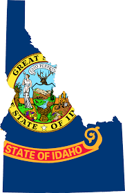 Map Of Idaho State by File Flag Map Of Idaho Svg Wikimedia Commons
