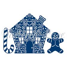 House Essentials by Tattered Lace Dies Essentials Gingerbread House