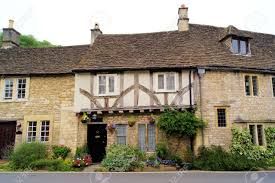 english style house 12107119 typical english style houses in the cotswold village of