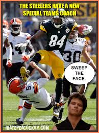 Cleveland Brown Memes - 15 best memes of antonio brown kicking spencer lanning sportige
