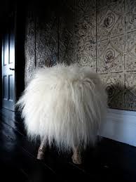 Sheep Home Decor Home Decorating Trends For L Essenziale Sheep Skin Stool Idolza