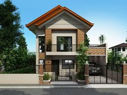 2 storey house plans narrow house design for a 2 story 2 floor home with small lot
