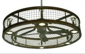 peregrine industrial led ceiling fan industrial looking ceiling