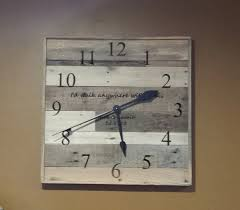 personalized anniversary clocks 90 best handmade clocks recycled re purposed images on