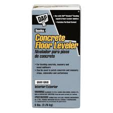 Levelquik Rs by Dap 5 Lb Gray Concrete Floor Leveler 10414 The Home Depot