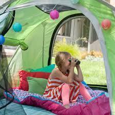 backyard camping with kids popsugar moms