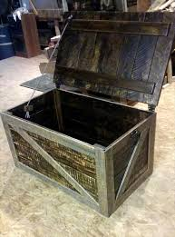 pallet trunk toy box storage chest pallet furniture diy