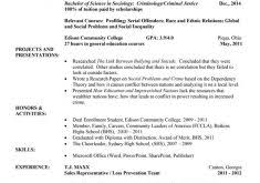 Teen Resume Examples by College Resume Format 5 Entry Level College Student Resume