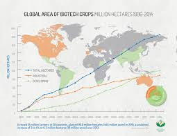 World Hunger Map by Report Shows Continued Global Growth In Biotech Crops Bio Based