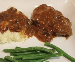 country style steak with magical mushroom gravy kel u0027s cafe of