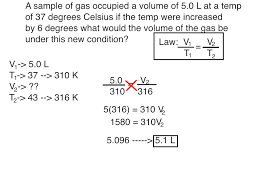 gas laws chemistry 101