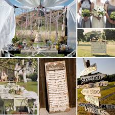 creative of shabby chic garden wedding wedding shab chic garden