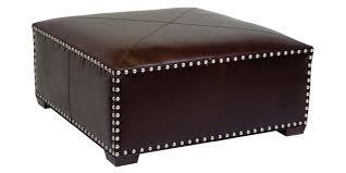 leather ottomans u0026 coffee table storage ottomans club furniture