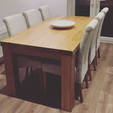 Modern Oak Dining Tables Home Design Luxury Contemporary Solid Wood Dining Table Modern
