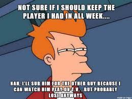Internet Drama Meme - fantasy football drama meme on imgur