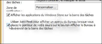 performance du bureau pour windows aero retrouver l aperçu du bureau windows 8 1