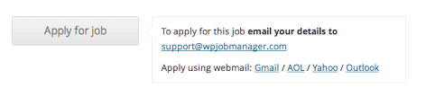 customising the application process u2013 wp job manager