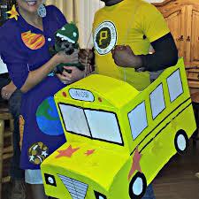 mrs frizzle u0026 the magic bus couples costume crafty morning