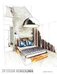 the 25 best interior design sketches ideas on pinterest