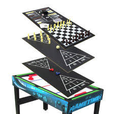 3 in one foosball table 12 in one game table pool hockey basketball chess checkers foosball