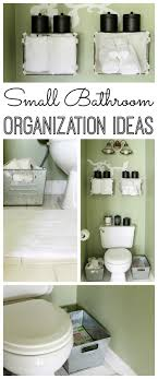 bathroom organization ideas for small bathrooms small bathroom organization ideas the country chic cottage