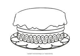 birthday cake template printable printable invitations