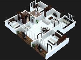 Bedroom Plan Wohndesign Exquisit 3 Bedroom Two Apartments Apartment Floor
