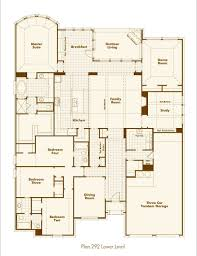 Home Floor Plan by New Home Plan 292 In Prosper Tx 75078