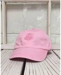 light pink polo baseball cap brand quality fashion new lotus flower embroidered polo baseball hat